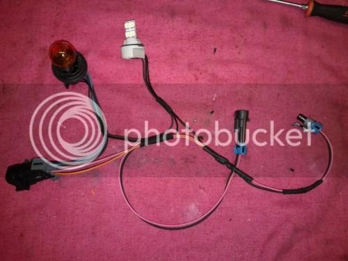 small resolution of custom cobalt headlight highbeam shutter harness img