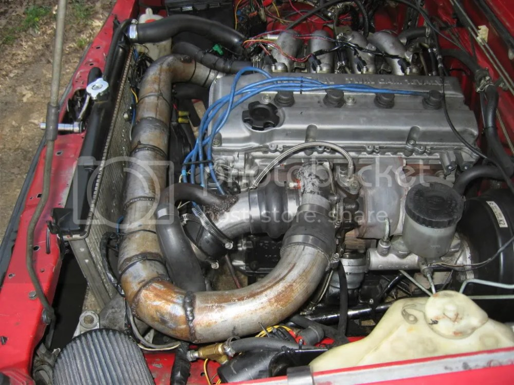 medium resolution of intercooler coming soon now that i will finally own a tig brake stuff is far from the exhaust looks scary in the picture