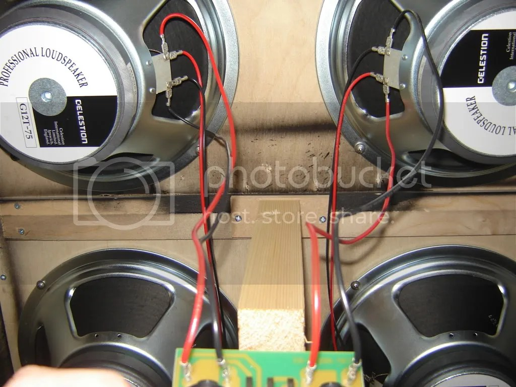 Speaker Wiring Configurations 2x12