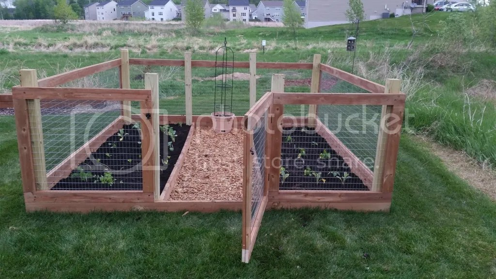 How To Build A Simple Garden Fence YouTube