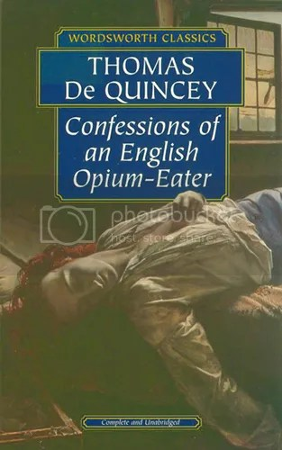 Image result for confessions of an opium eater