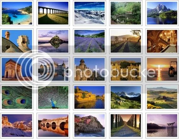 Download 338 hình nền chính thức của Windows 7