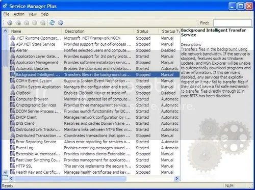 Service Manager Plus: Quản lý các dịch vụ trong WIndows
