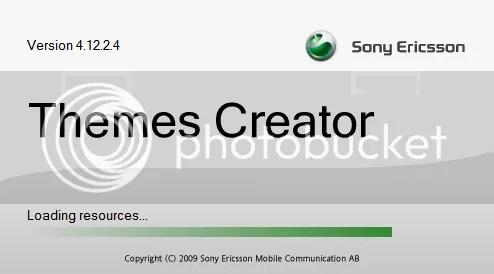 Tự làm theme cho điện thoại Sony Ericsson