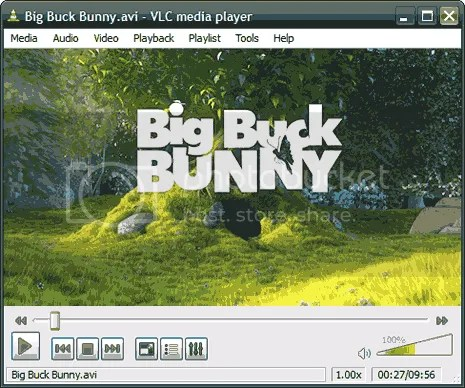 Download bản portable của VLC media player