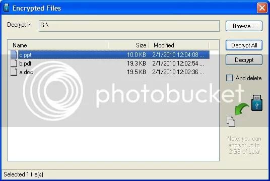 USB Safeguard: Bảo vệ file và folder của bạn trên ổ USB Flash