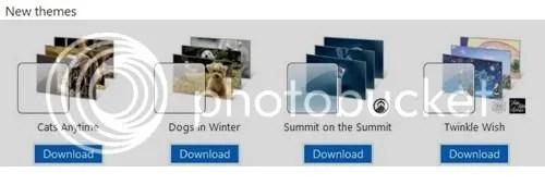Windows 7 new Themes