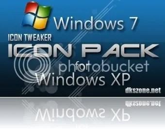 Đem các icon của Windows 7 vào Windows XP