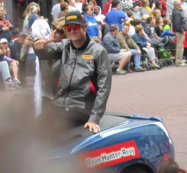 Ryan Hunter-Reay, Indianapolis, 500, 500 Festival Parade, Indianapolis, 2013