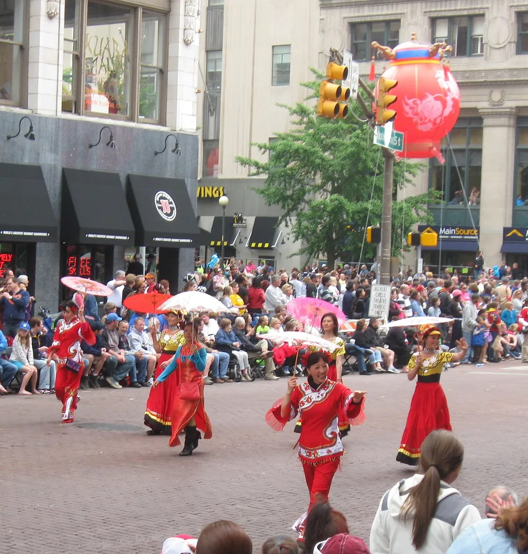 Confucius Insitute, IUPUI, 500 Festival Parade 2013, Indianapolis