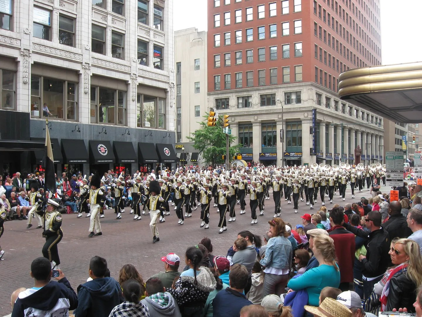 Purdue University, Marching Band, 500 Festival Parade 2013, Indianapolis
