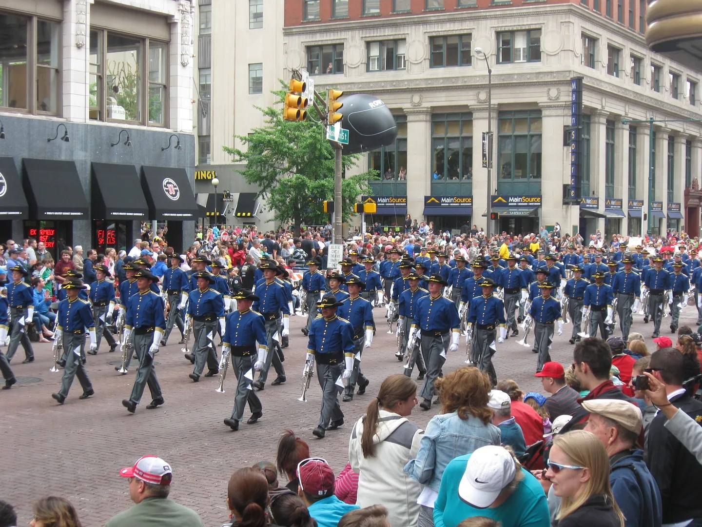Trooper Drum and Bugle Corps, Casper, Wyoming, 500 Festival Parade 2013, Indianapolis