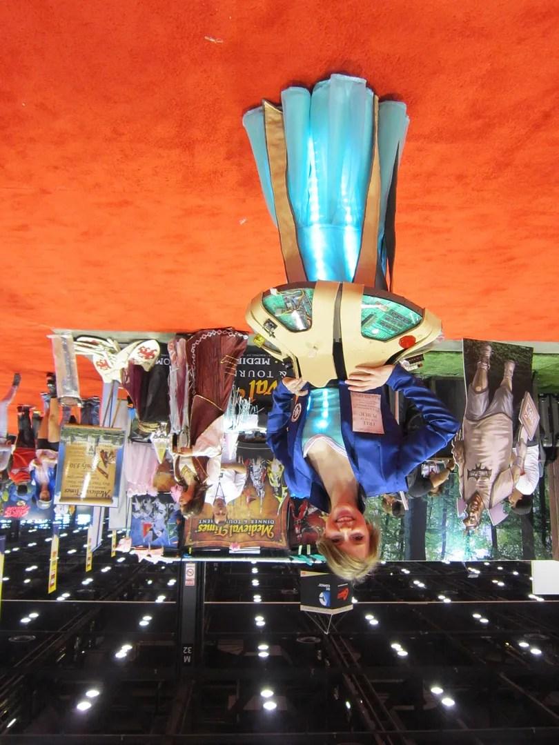 TARDIS Console costume, C2E2