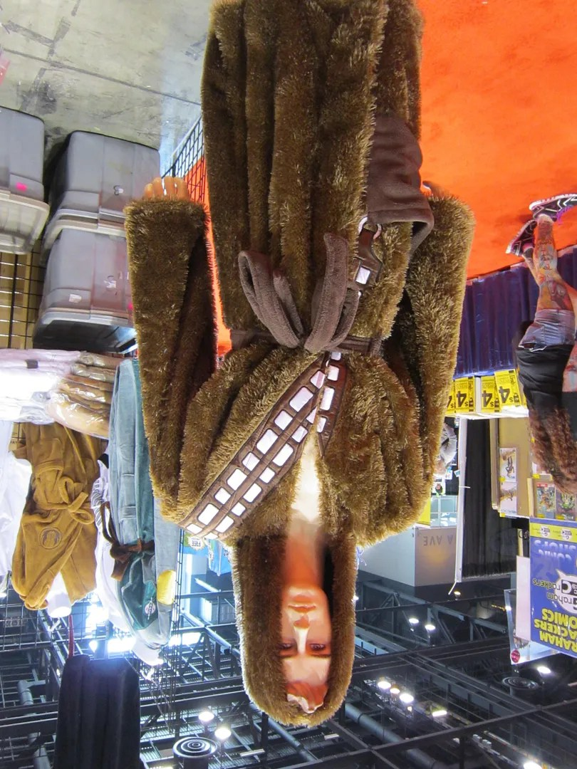 Wookiee skin bathrobe, C2E2