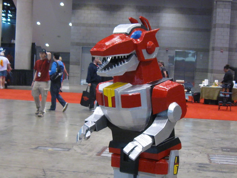 T-Rex Megazord, C2E2