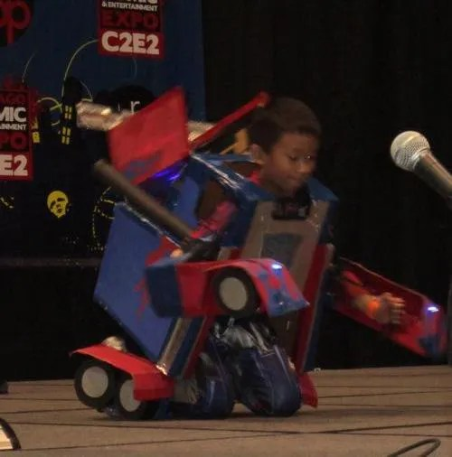 Optimus Prime Jr., C2E2