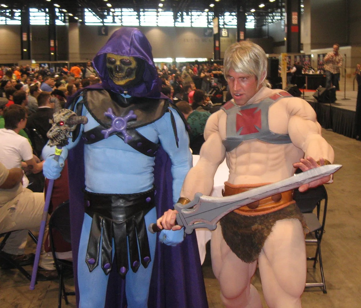 He-Man, Skeletor, C2E2