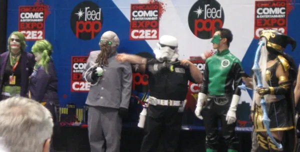 Ood, Joker, Star Wars, Green Lantern Kyle Rayner, Ashe, League of Legends, C2E2