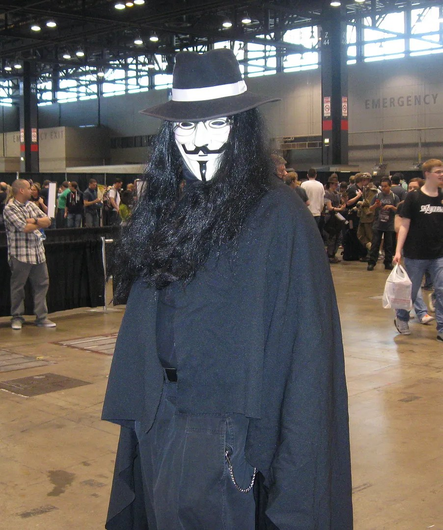 V for Vendetta, C2E2
