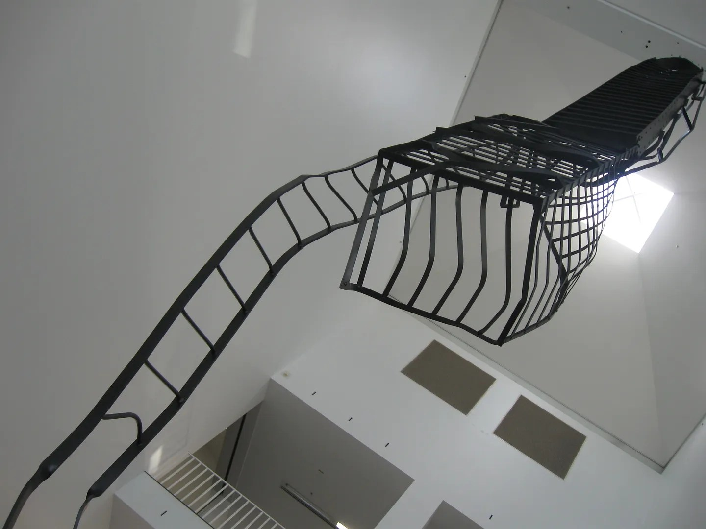 Monica Sosnowska, The Fire Escape, MCA, Chicago