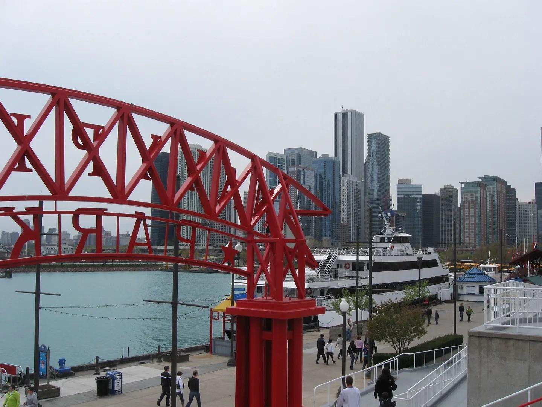Chicago, Navy Pier view