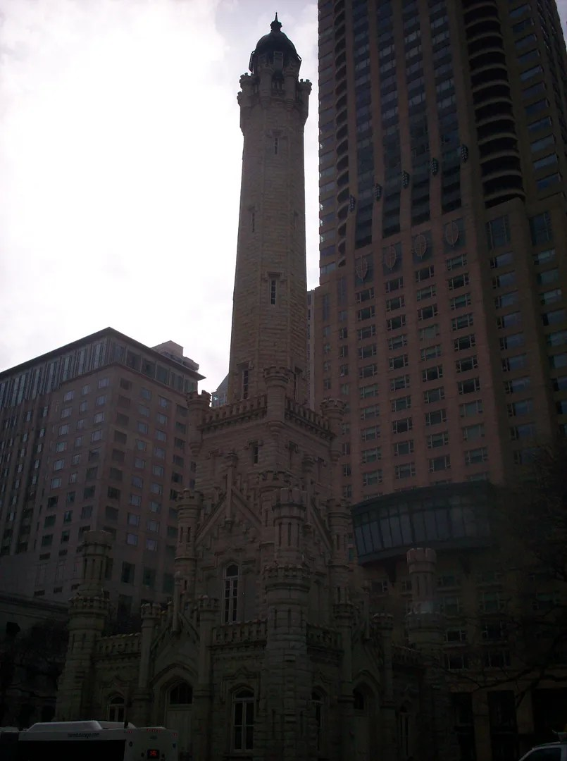 Historic Water Tower, Magnificent Mile, Chicago