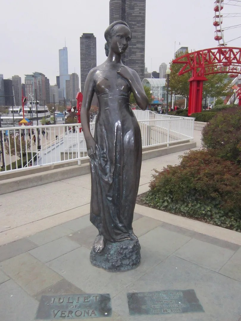 Juliet of Verona, Navy Pier, Chicago