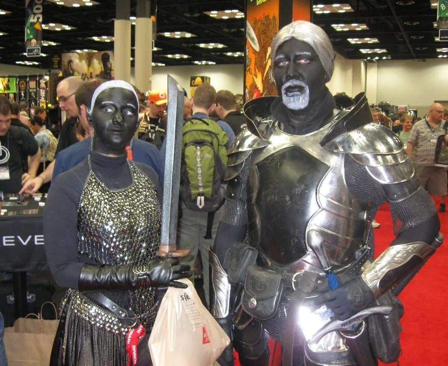 Drow knights