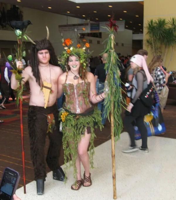satyr, dryad, GenCon 2013