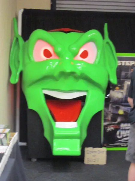 Green Goblin head