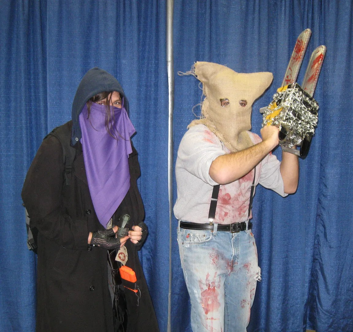 scary characters, costumes, Indiana Comic Con 2014, Indianapolis
