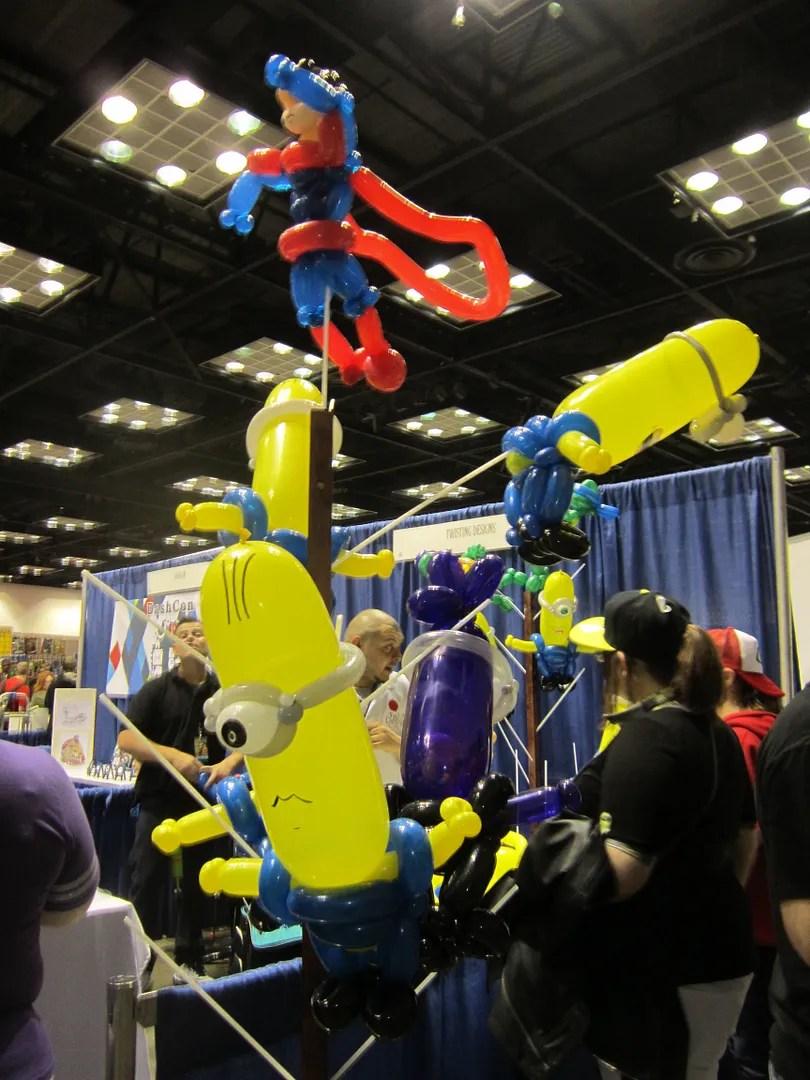 BALLOONS, Indiana Comic Con 2014, Indianapolis