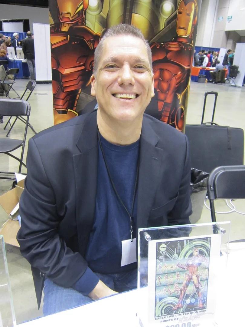 Bob Layton, Indiana Comic Con 2014, Indianapolis