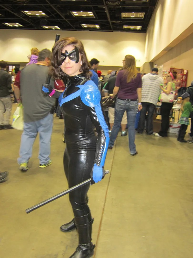 Nightwing, costumes, Indiana Comic Con 2014, Indianapolis