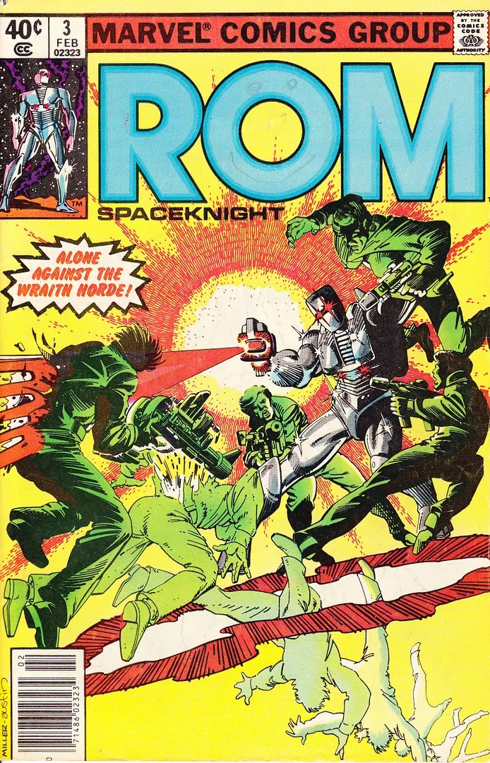 ROM Spaceknight #3, Marvel Comics, February 1980