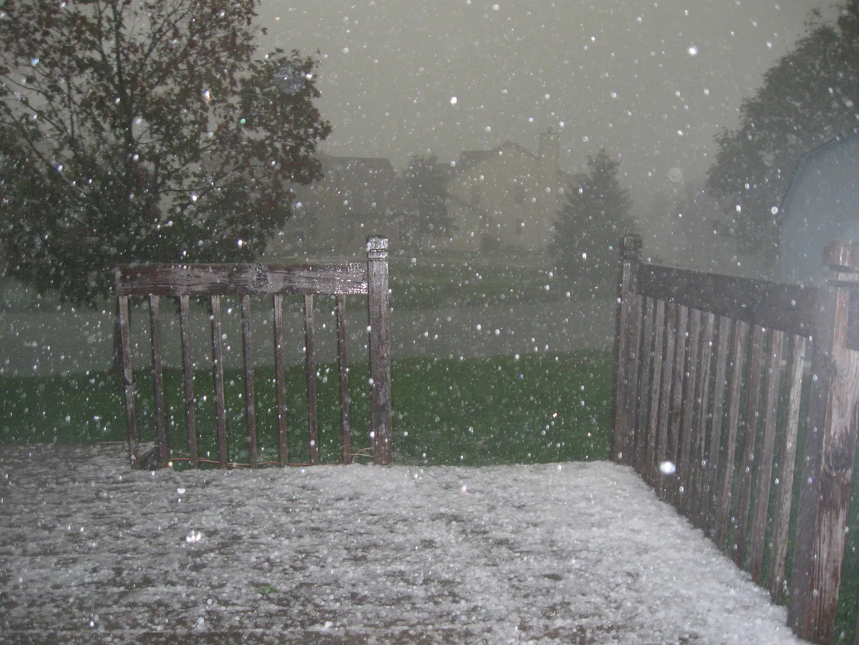 Indiana hailstorm 9/21/2012