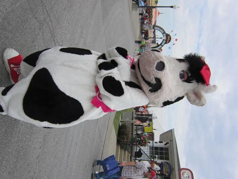 State Fair Cow Mascot Costume