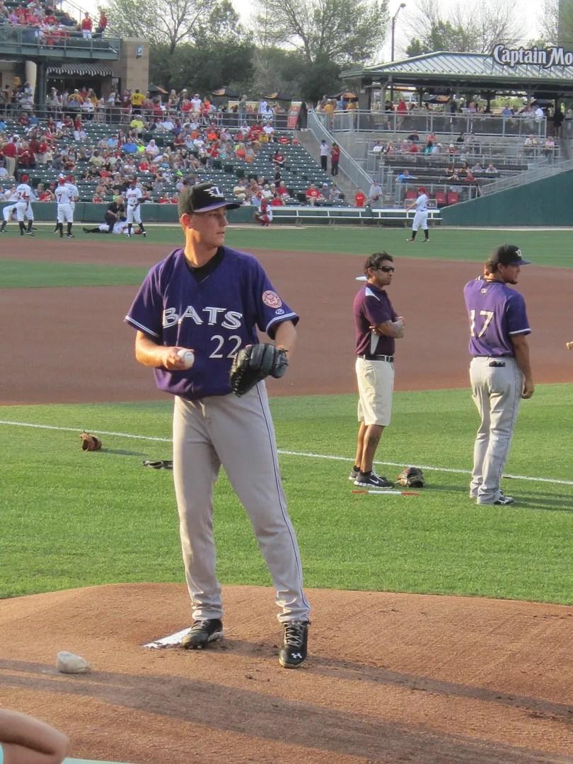 Tim Crabbe, Louisville Bats, Victory Field
