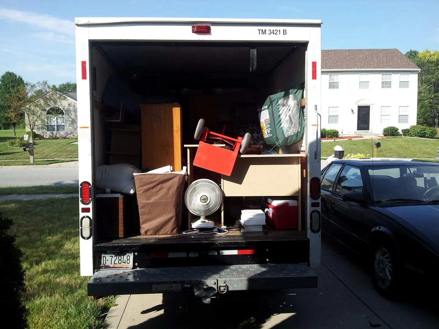 moving van, moving day