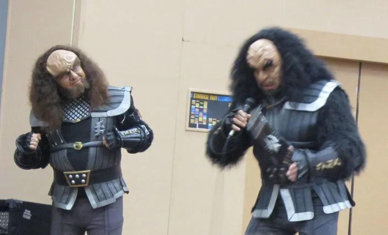 Gowron, Martok, Starbase Indy 2012, Star Trek