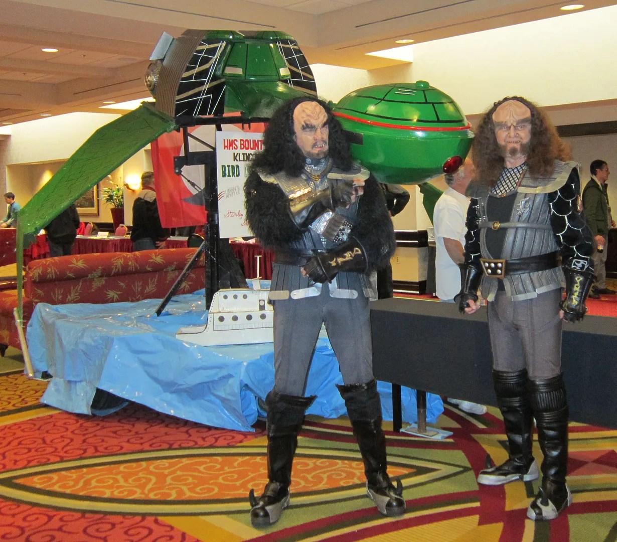 Gowron, Martok, Star Trek, Starbase Indy 2012