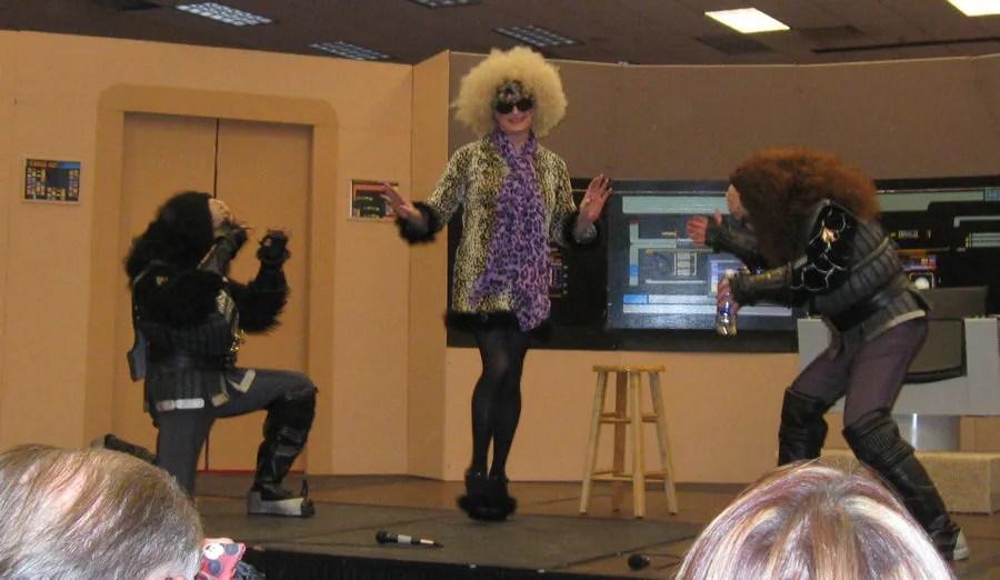 Moxie Magnus, Gowron, Martok, Starbase Indy 2012