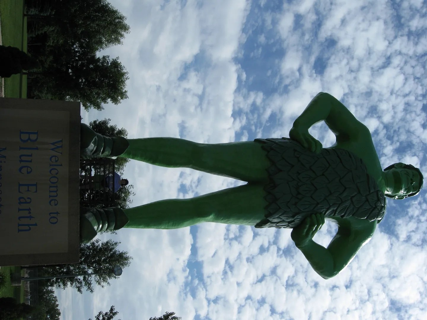 Jolly Green Giant, Blue Earth, Minnesota