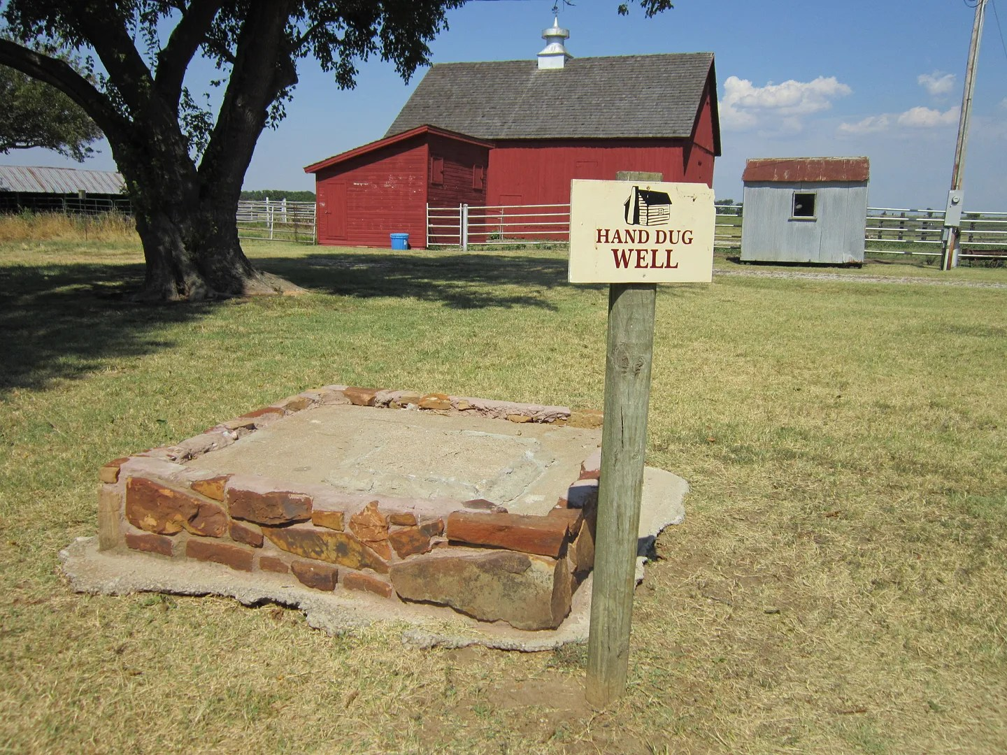 Ingalls Well, Little House on the Prairie Museum, Independence, Kansas