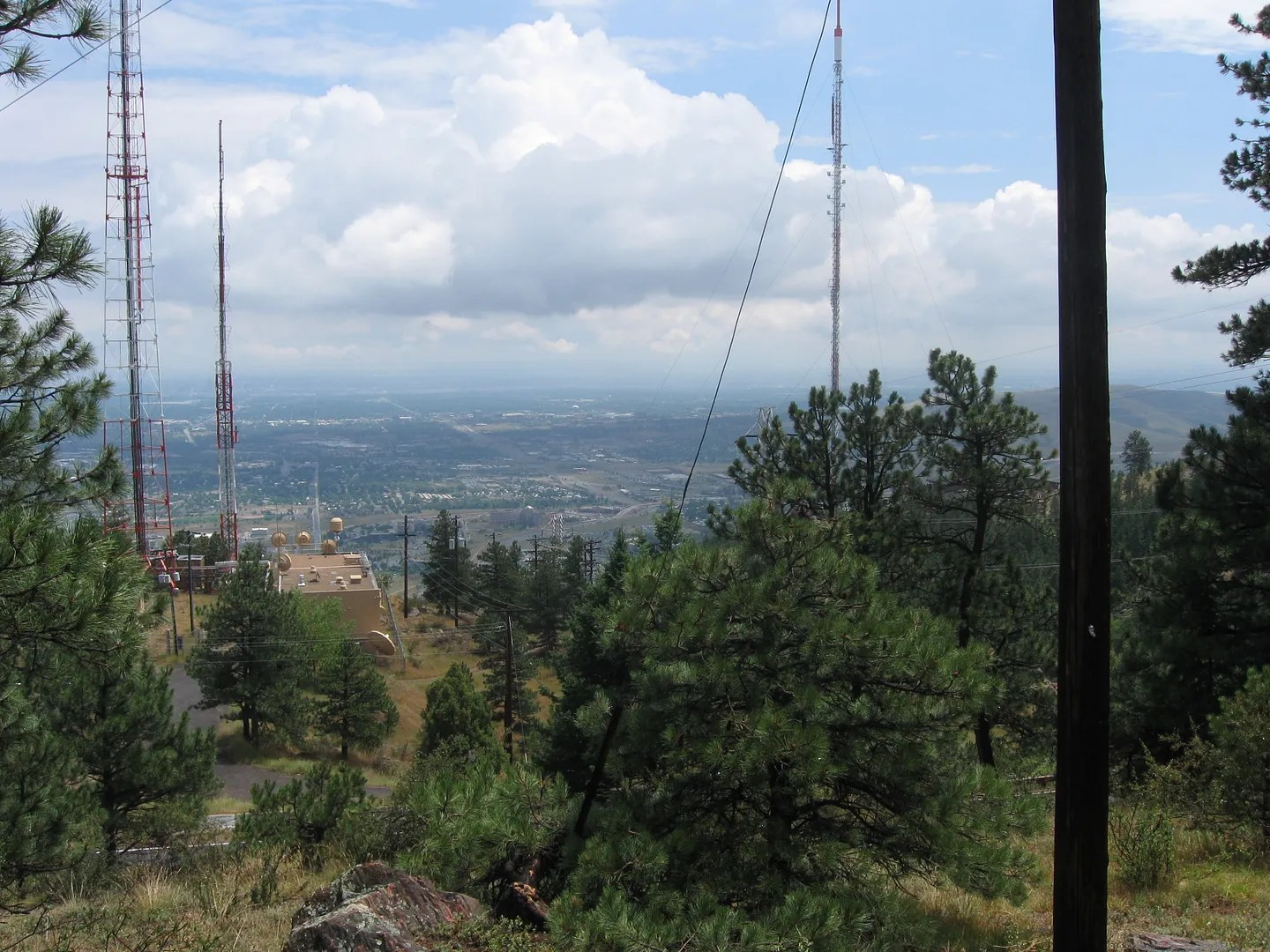 looking east from Lookout Mountain