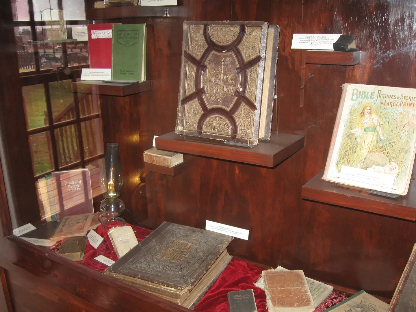 Bibles, Boot Hill Museum, Dodge City, Kansas