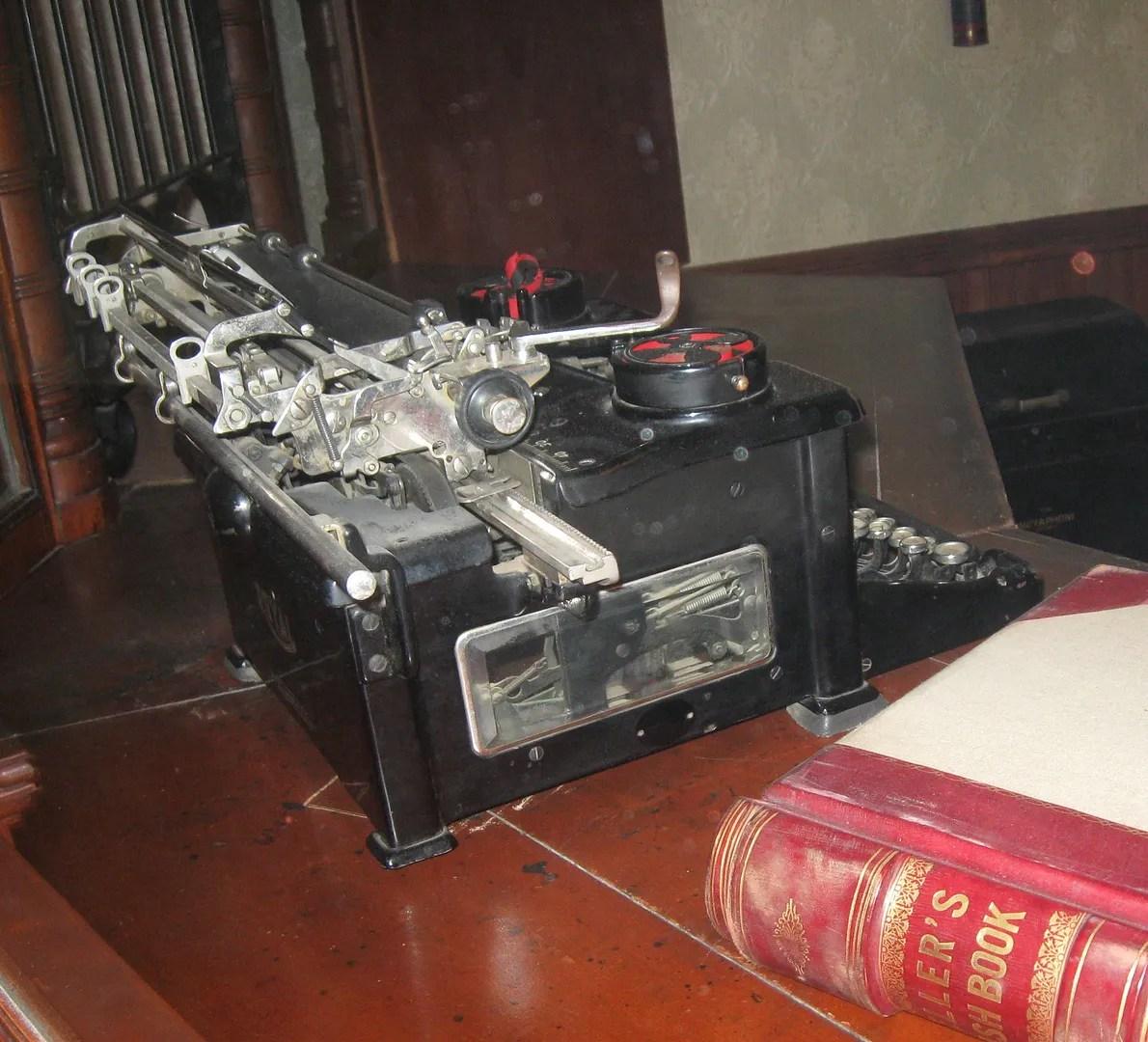 Typewriter, Boot Hill Museum, Dodge City, Kansas