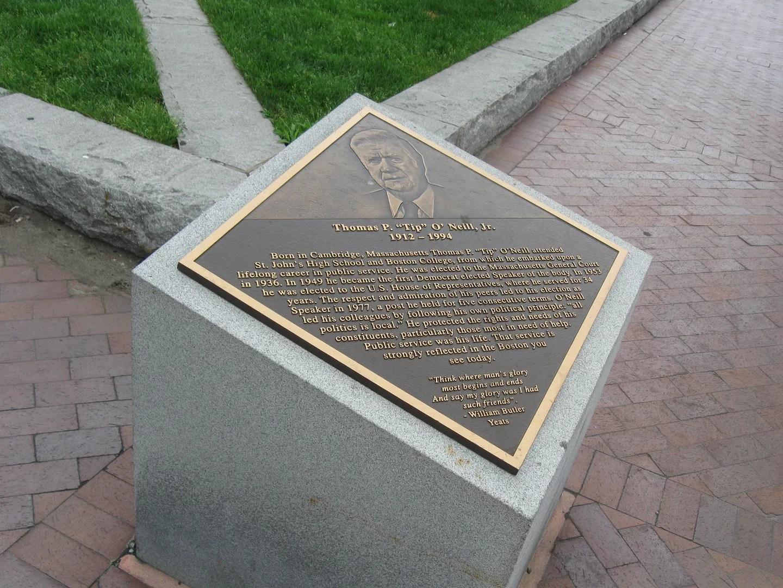 Tip O'Neill memorial, Boston
