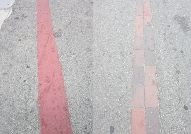Freedom Trail lines, Boston