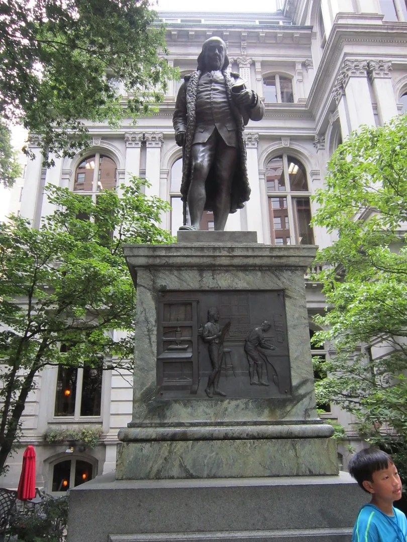 Benjamin Franklin statue, Boston